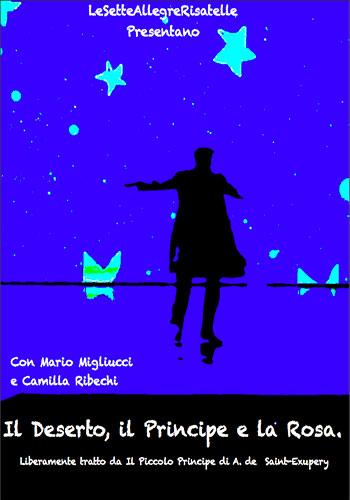 Le sette allegre risatelle - Teatro per ragazzi - Il deserto, il principe e la rosa